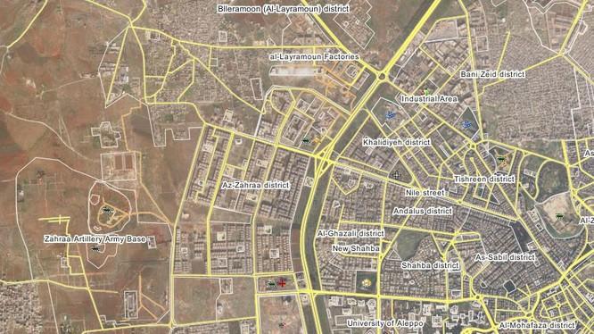 Lực lượng vũ trang Syria diệt 30 tay súng Jabhat Al Nusra ở thành phố Aleppo