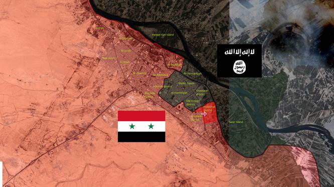 Quân đội Syria phản kích ở Deir Ezzor, diệt 20 tay súng IS