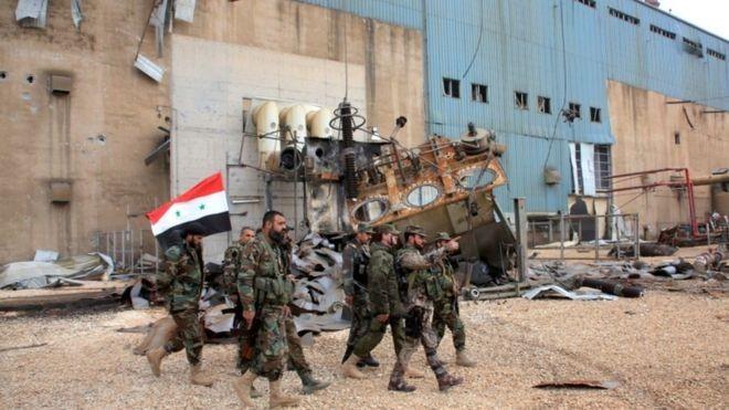 Lực lượng Tigers chuẩn bị tấn công trên mỏ khí gas Đông Bắc tỉnh Homs