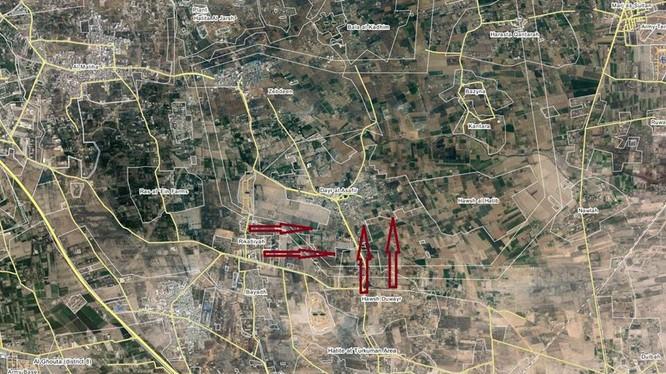 Quân đội Syria tấn công thị trấn Deir Al-'Assafir, Đông Ghouta