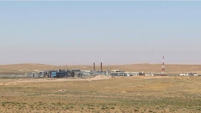Lực lượng Tigers triển khai tấn công trên mỏ khí gas Al-Shaer