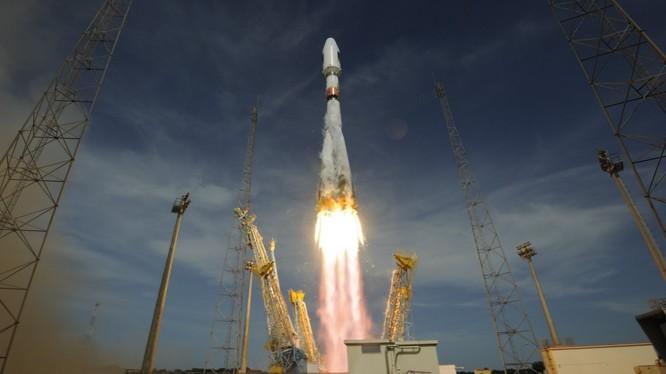 Video: Cận cảnh toàn bộ quá trình phóng tên lửa Soyuz-2.1a