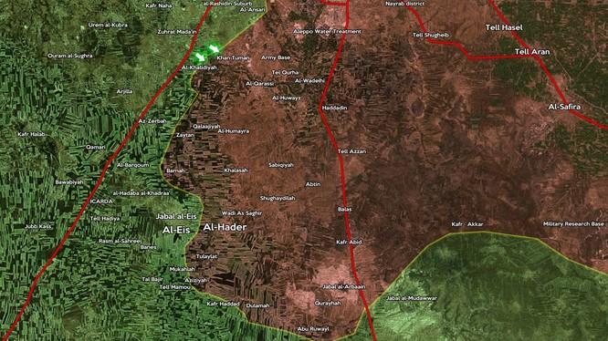 Quân đội Syria bất ngờ thất bại, tổn thất và thương vong lớn