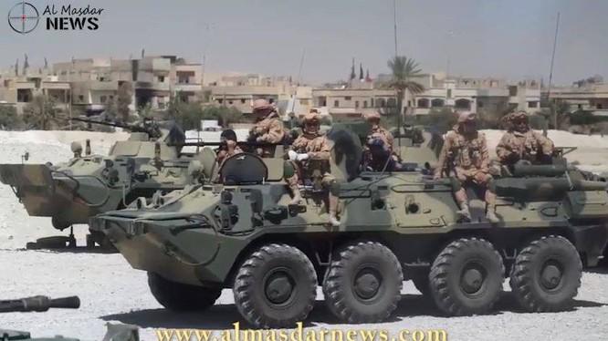 Video: Nga triển khai căn cứ quân sự chống IS tại Palmyra
