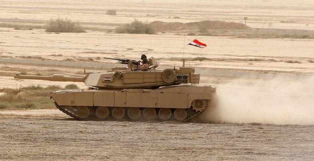 Video: Xe tăng Iraq bẻ gãy cuộc tấn công, diệt 11 chiến binh