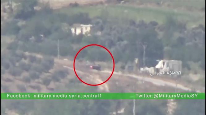Video: Các binh sĩ Syria diệt xe tăng Jaish al-Fateh bằng ATGM Kornet
