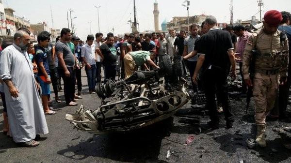Video: IS đánh bom khủng bố ở Sadr City thuộc Baghdad, sát hại 52 người