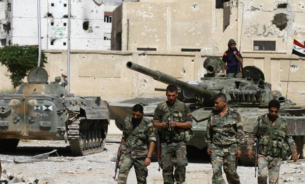 Quân đội Syria mất ưu thế chiến trường, IS đang sản xuất vũ khí hóa học