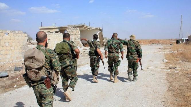 NDF phục kích tiêu diệt IS phía đông tỉnh Sweida