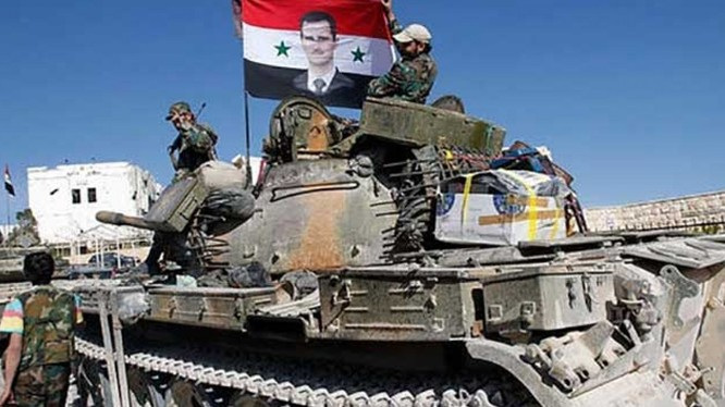 Quân đội Syria bẻ gãy hoàn toàn cuộc tấn công của IS vào sân bay T-4
