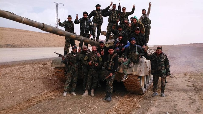 Lữ đoàn dù 104 diệt 60 chiến binh IS tại Deir Ezzor