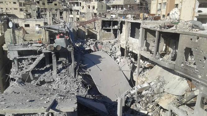 Chính quyền Syria cho phép sinh viên vùng phong tỏa về thủ đô Damascus thi cuối năm