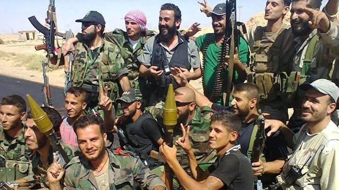 Lực lượng vũ trang địa phương NDF ở Deir Ezzor