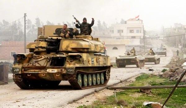 Quân đội Syria đánh chiếm nhà máy Dược trong thị trấn Khan Al-Sheih