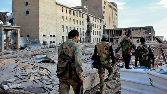 Quân đội Syria giao chiến ác liệt với lực lượng Hồi giáo cực đoan ở Tây Aleppo