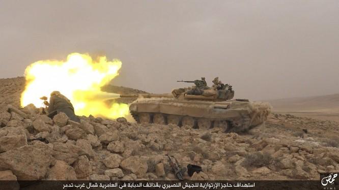 Lực lượng Tigers tấn công khu mỏ khí gas Al-Sha'ar