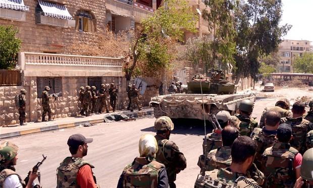 Dòng vũ khí tiếp viện cho lực lượng nổi dậy từ nước ngoài đổ vào tỉnh Dara'a Syria