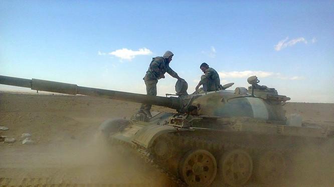 Lực lượng Tigers tấn công dãy núi chiến lược Jabal Al-Bardeh