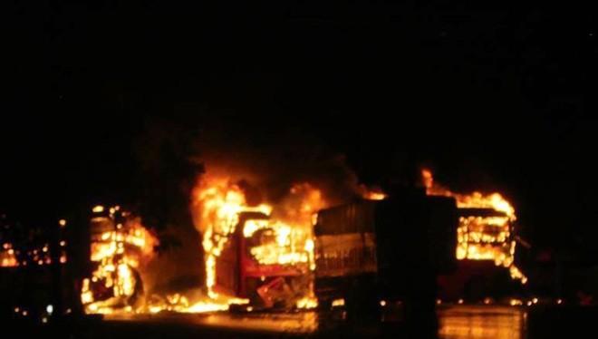 12 người thiệt mạng trong vụ tai nạn thảm khốc