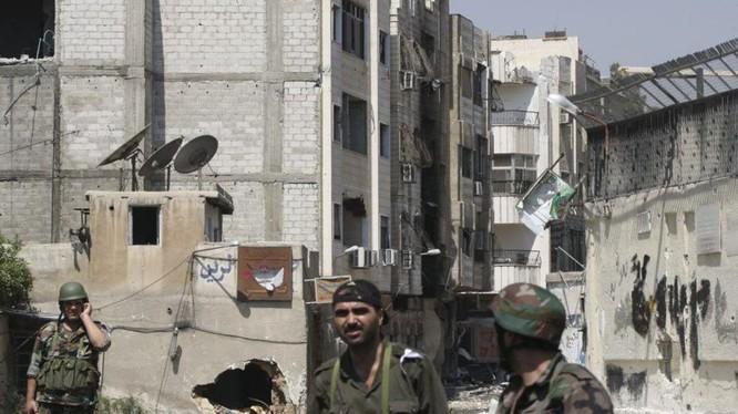An ninh Syria bắt giữ 8 kẻ khủng bố ở Damascus