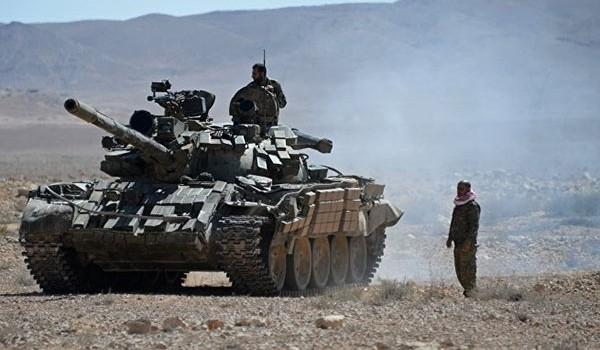 Video: Cận cảnh trận chiến ác liệt của quân đội Syria khu mỏ dầu khí al-Shaer