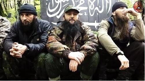 Ba thủ lĩnh của lực lượng Hồi giáo cực đoan vùng Caucasus