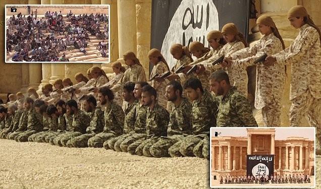 Phát hiện mộ tập thể các binh sĩ Syria bị IS thảm sát