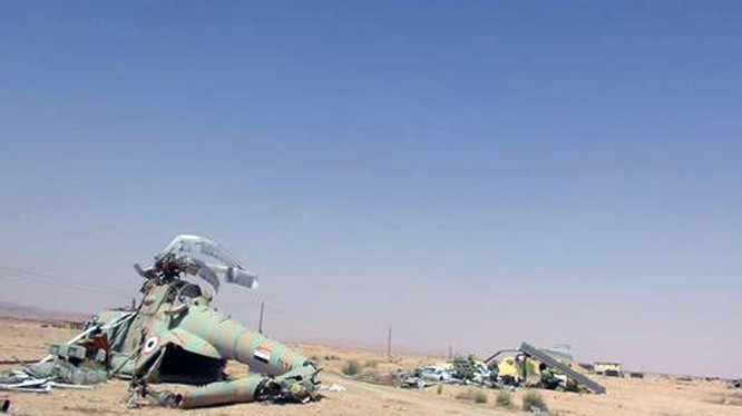 Nga biến sân bay Palmyra thành căn cứ quân sự chống IS