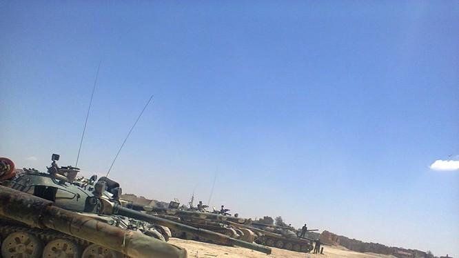 Quân đội Syria mở lại mặt trận giải phóng Deir Ezzor