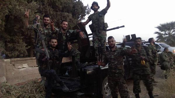 Lực lượng Tigers chuẩn bị tấn công trên vùng nông thôn Tây Aleppo