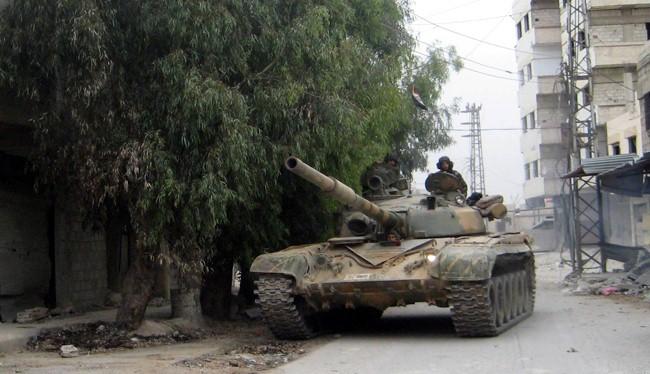 Lực lượng Vệ binh Cộng hòa tấn công Jabhat Al-Nusra ở Đông Ghouta