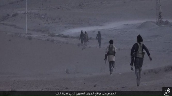 IS chiếm được một số địa bàn nhỏ thuộc thành phố Deir Ezzor