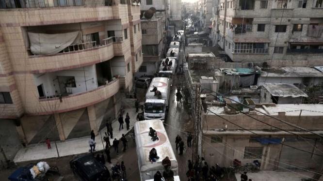 Quân đội Syria và lực lượng Hồi giáo cực đoan ký thỏa thuận ngừng bắn ở Damascus