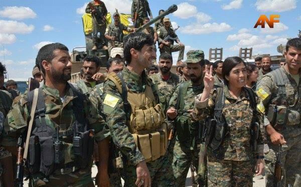 Lực lượng Dân chủ Syria đánh chiếm 3 làng gần thành phố Menbeij