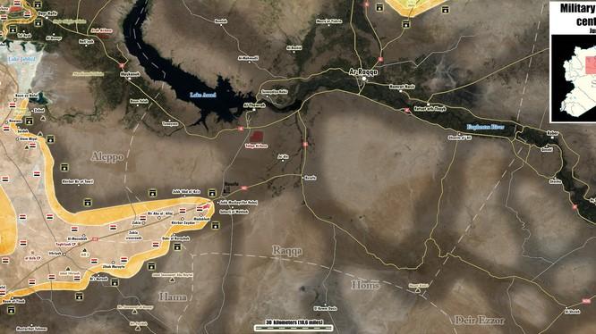 Báo Ả Rập: Đã có binh sĩ quân đội Syria tử trận trên sa mạc Raqqa
