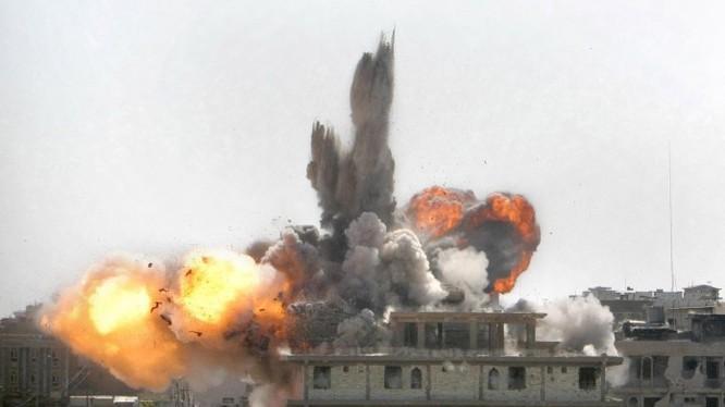 Video: Không quân Nga không kích kinh hoàng Hồi giáo cực đoan ở Tây Aleppo