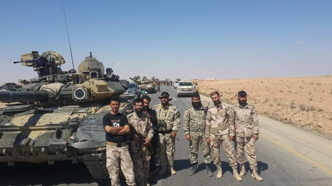 Không quân Nga – Syria không kích dữ dội khu vực Tabqa, tỉnh Raqqa