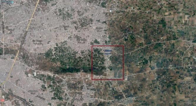 Quân đội Syria tấn công giành thị trấn Jisreen Đông Ghouta (video)