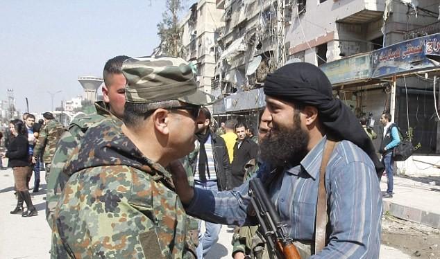 Quân đội Syria và Hồi giáo cực đoan ký thỏa thuận ngừng bắn ở thị trấn Zabadani