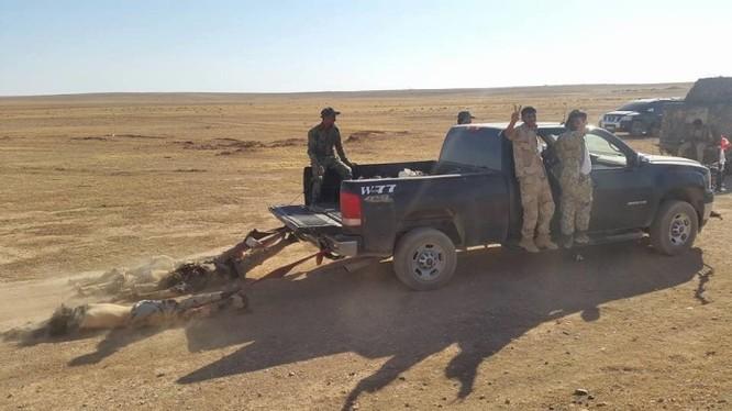 IS tấn công quân đội Syria thất bại, mất 23 tay súng cực đoan
