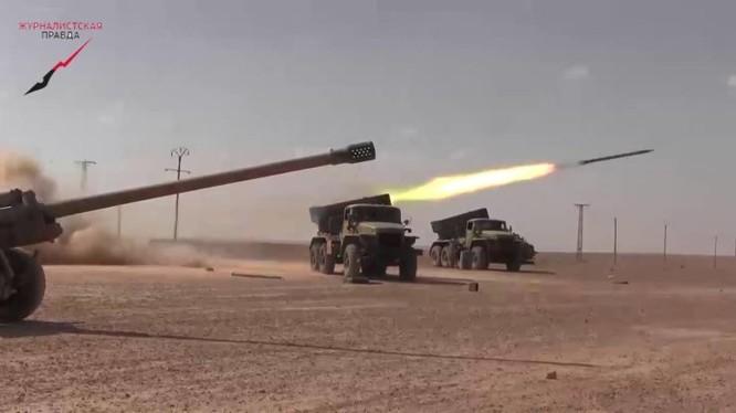 SDF không định giải phóng Manbij, quân đội Syria tiến sâu vể hướng Raqqa