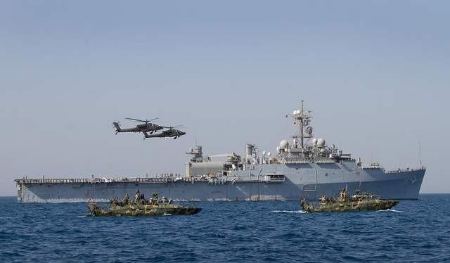 Căn cứ Hải quân Mỹ cơ động trên biển