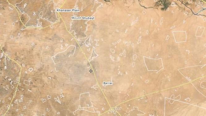Tuyến đường huyết mạch Ithriya-Khanasser đến Aleppo