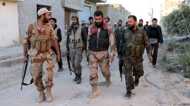 Lực lượng Hồi giáo cực đoan ở Syria
