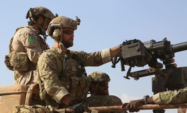 Binh sĩ Mỹ trên chiến trường Syria