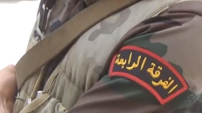 Phù hiệu Sư đoàn cơ giới số 4 quân đội Syria