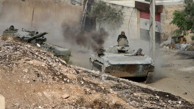 Tăng thiết giáp quân đội Syria