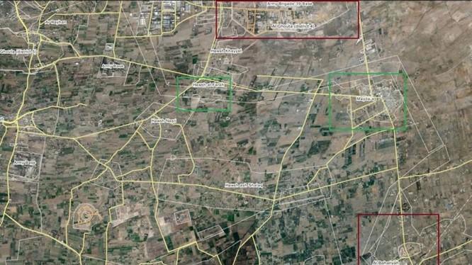 Khu vực quân đội Syria tiến công ở thành phố chiến lược Maydaa