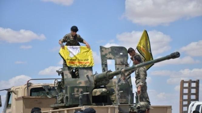Lực lượng Dân chủ Syria SDF