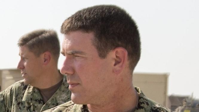 Thuyền trưởng Hải quân Mỹ Kyle S. Moses